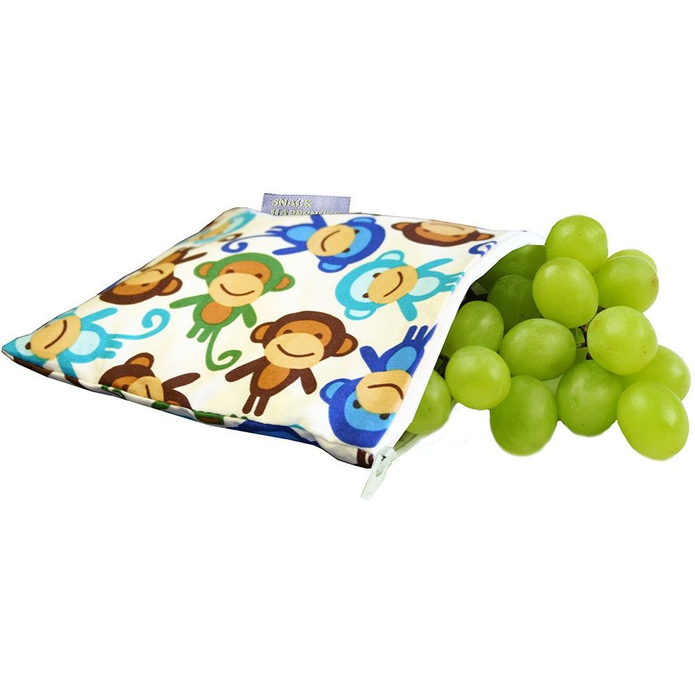 Snack Happens Reusable Snack Bag (More colors)