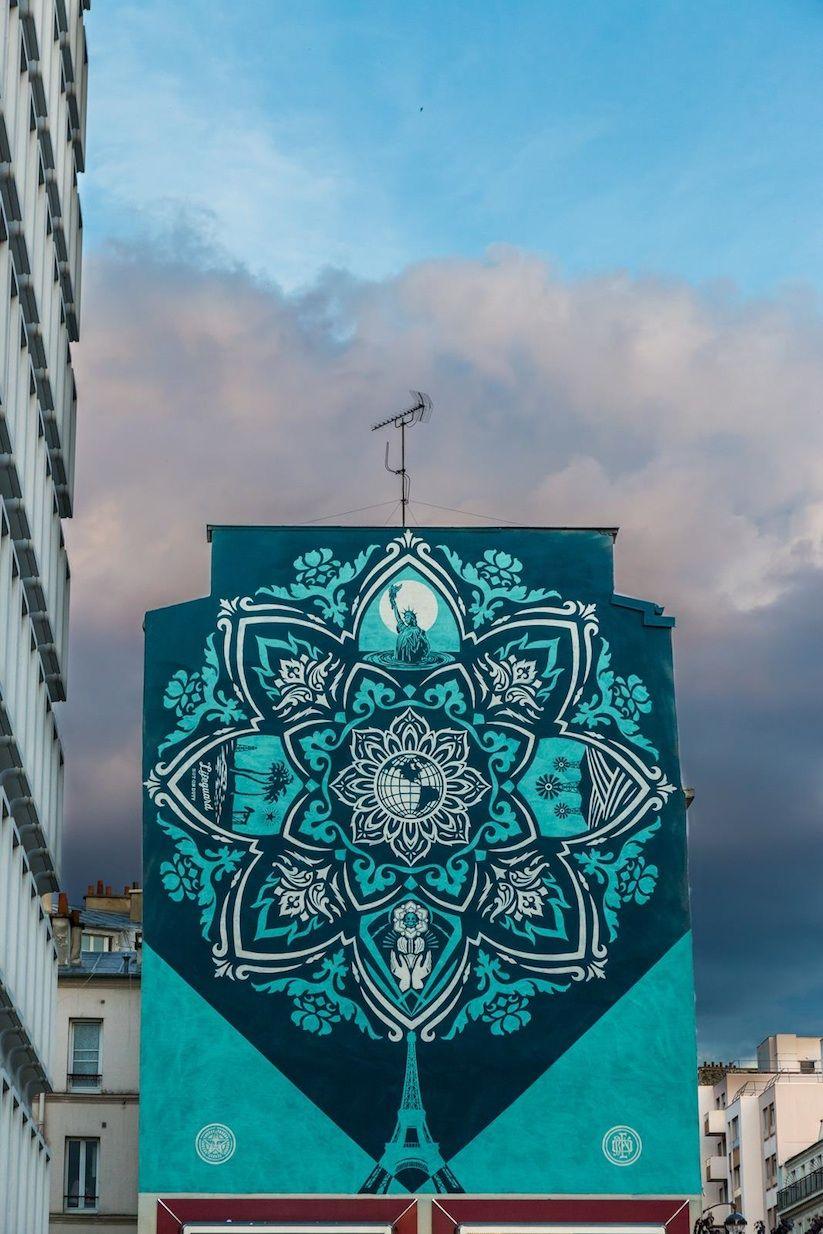 Earth_Crisis_Mandala_Designed_Mural_by_Shepard_Fairey_in_Paris_2016_05