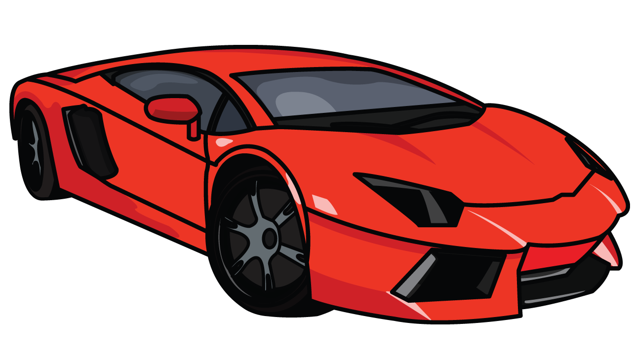 Lamborghini Aventador Step By Step Drawing Tutorial Step 8 Arts N