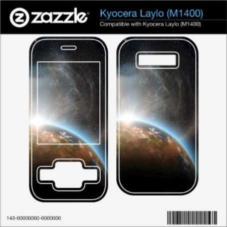 Misc Phone Skin Guide Files for the Zazzle Skins