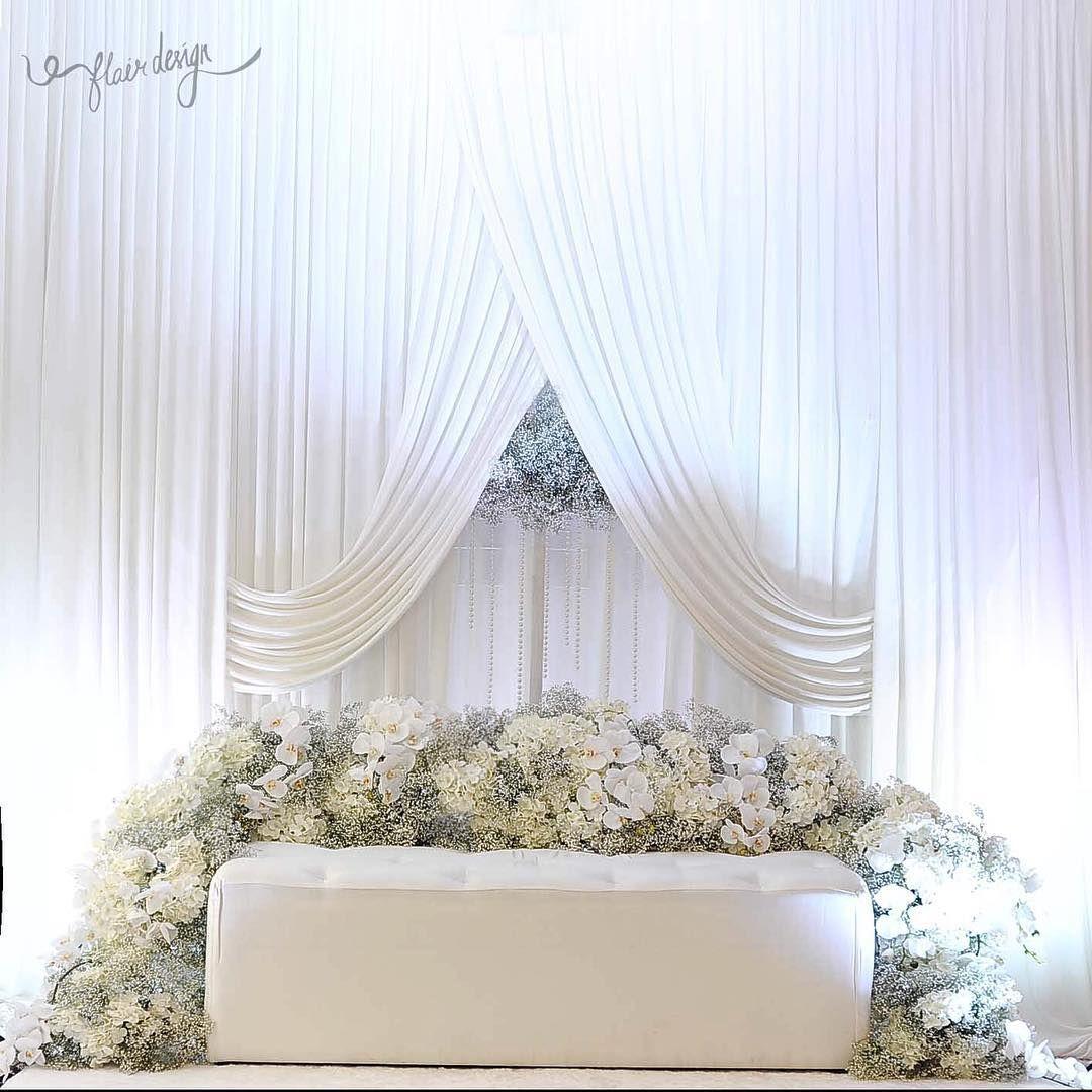 All white wedding dais.. | All white wedding | Pinterest | Weddings ...