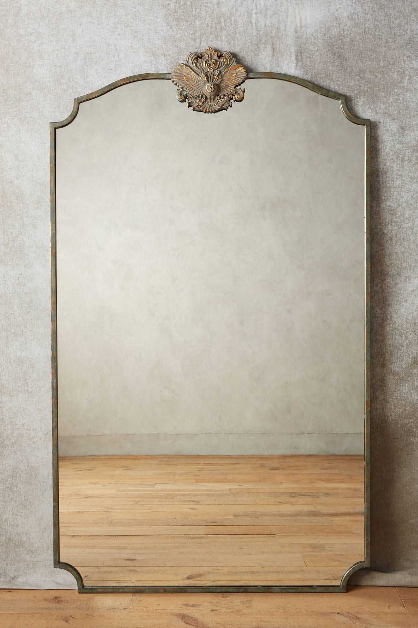 Shop the Wooded Manor Mirror and more Anthropologie at