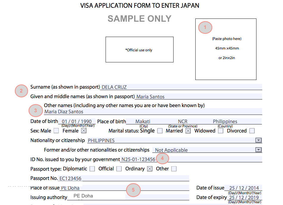 A Guide On Filling Up Your Japan Tourist Visa Application Form Wander With Mi By Maria Ingrid Japan Tourist Tourist Japan