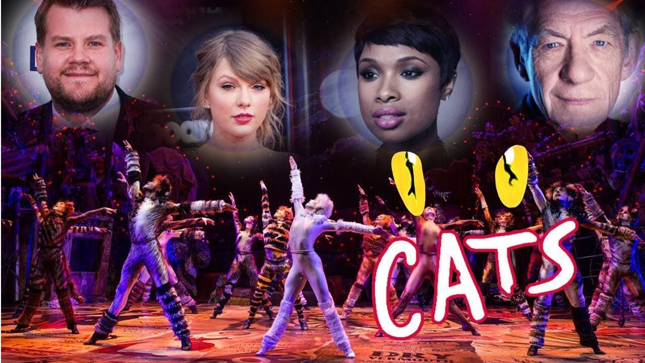 CATS (2019) Taylor Swift, James Corden and Jennifer