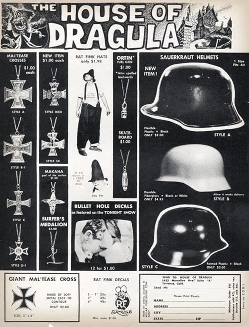Surfers Helmets And Iron Crosses In The Early 60s The Iron Cross