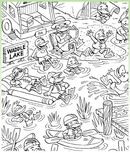 Find Highlights Hidden Pictures Puzzle Printables For A Rainy Day At