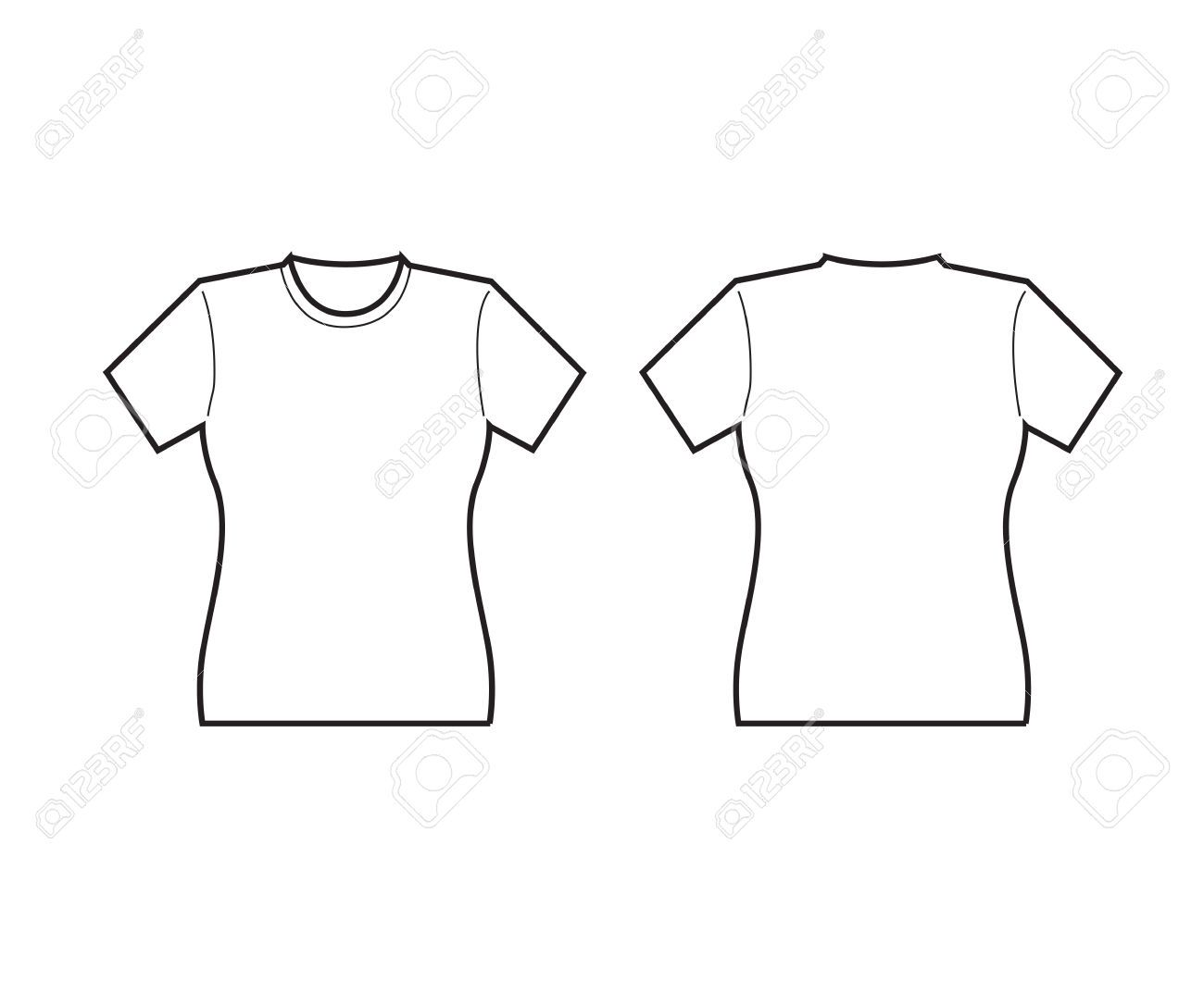 t-shirt template - Google zoeken | art centers | Pinterest ...