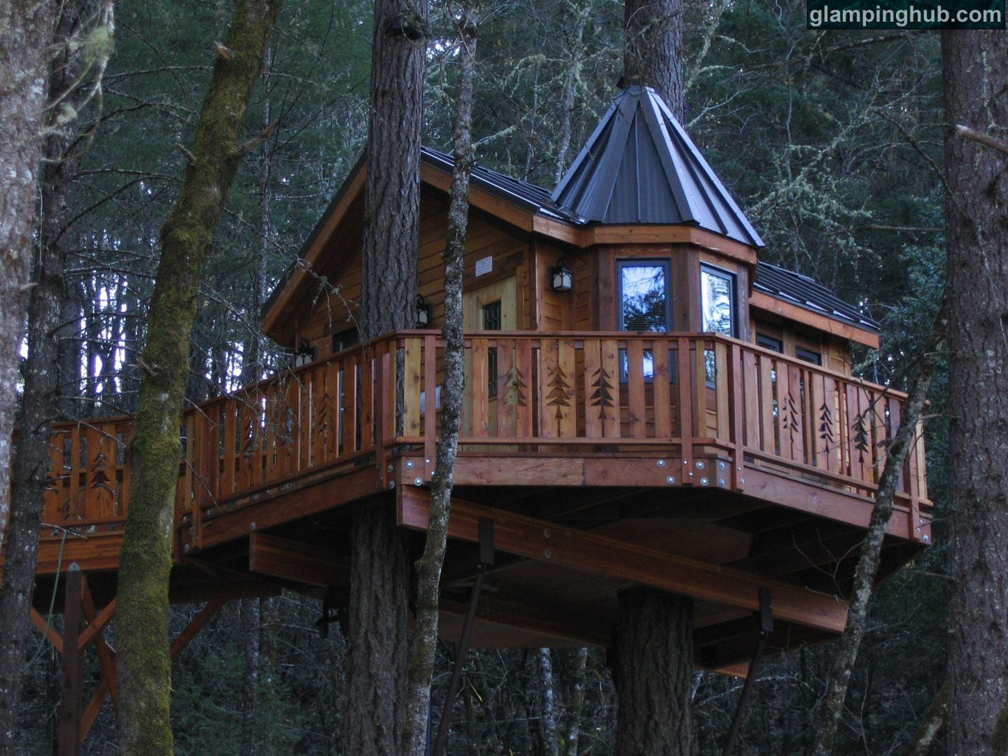 Treehouse Hotel In Oregon Part - 27: Upscale Bed And Breakfast Oregon | Luxury Camping Oregon | Tree Lodges  Oregon | Camping Oregon