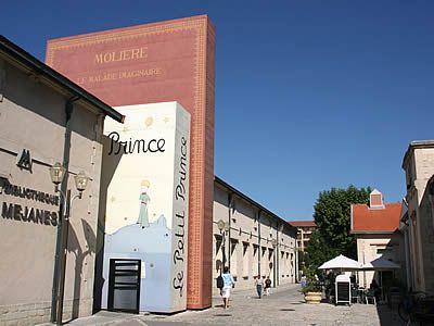Le petit Prince et la Bibliothèque méjanes à Aix en Provence@Janelle Amanda