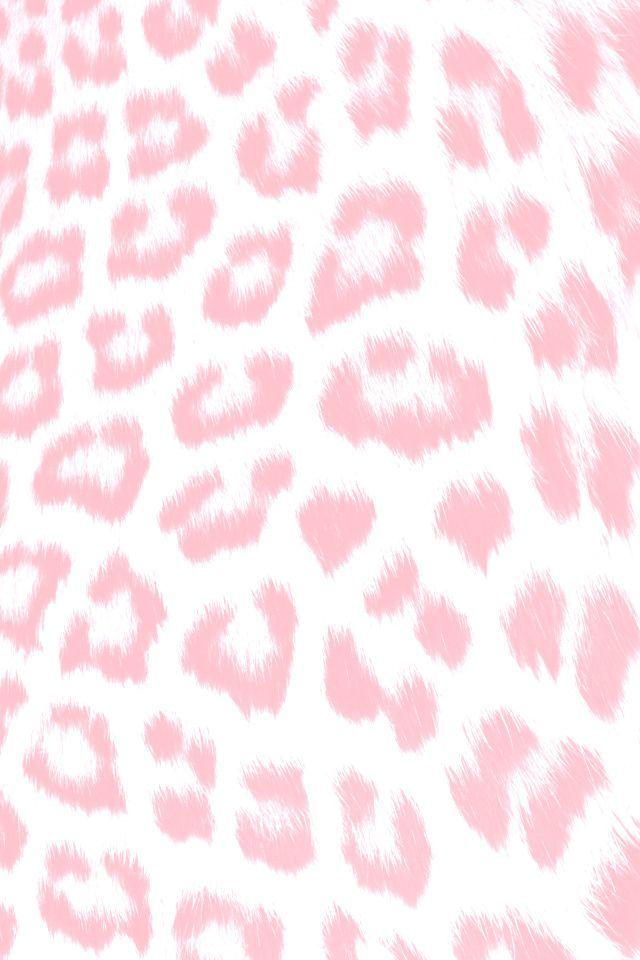 Photo of Hellrosa weißer Leopard Tierdruck iPhone Hintergrundbild Telefon Hintergrund Schloss scre …