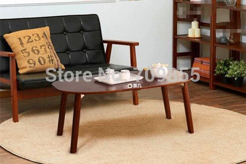 find more wood tables information about free shipping wood center table oval sofa living room furniture