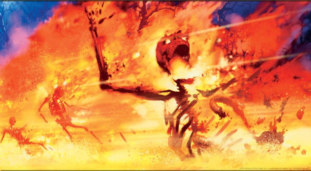 Flamebreak. Art by Trevor Hairsine