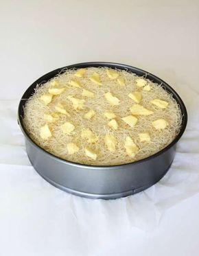 Kadayıflı kek tarifi #kuchenkekse