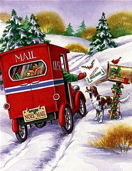 I think of my father-in-law because he was a mail carrier for years.