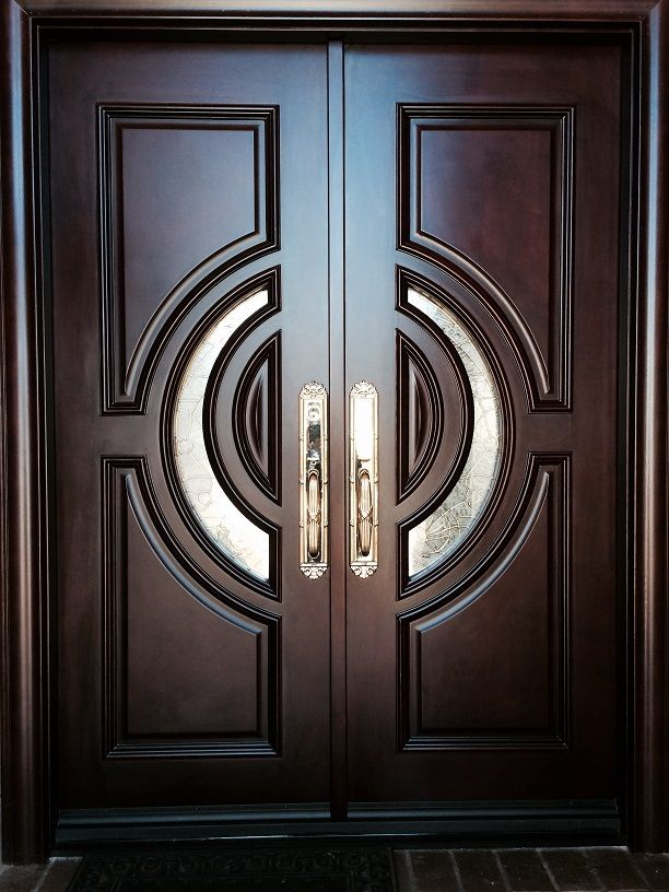 6 X 8 Xl 34c Our 2 1 2 Thick Mansion Door Is Manufactured With Mahogany Wood Over A Metal Core Double Door Design Door Design Modern Entry Door Designs
