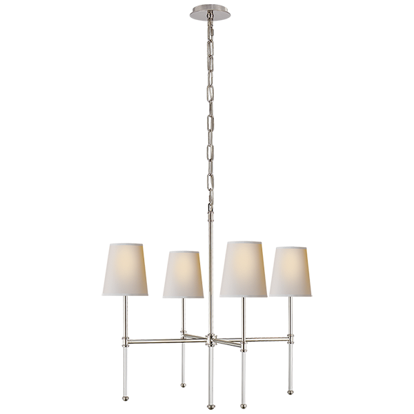 Camille Small Chandelier by Suzanne Kasler | Circa Lighting ...