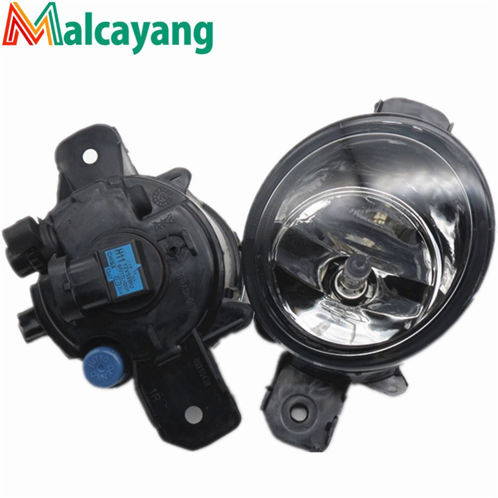 26150 89905 For Nissan Primera Wp12 P12 2002 2003 2004 2015 Car Styling Fog Lamps 55w Halogen Lights 1set Car Lights Halogen Lighting Fog Lamps