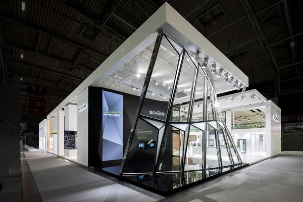 Exhibition Stand Nature : People nature technology schueco on behance architecture