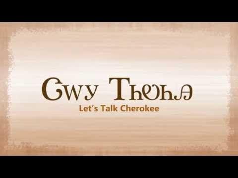 Let's Talk Cherokee - YouTube