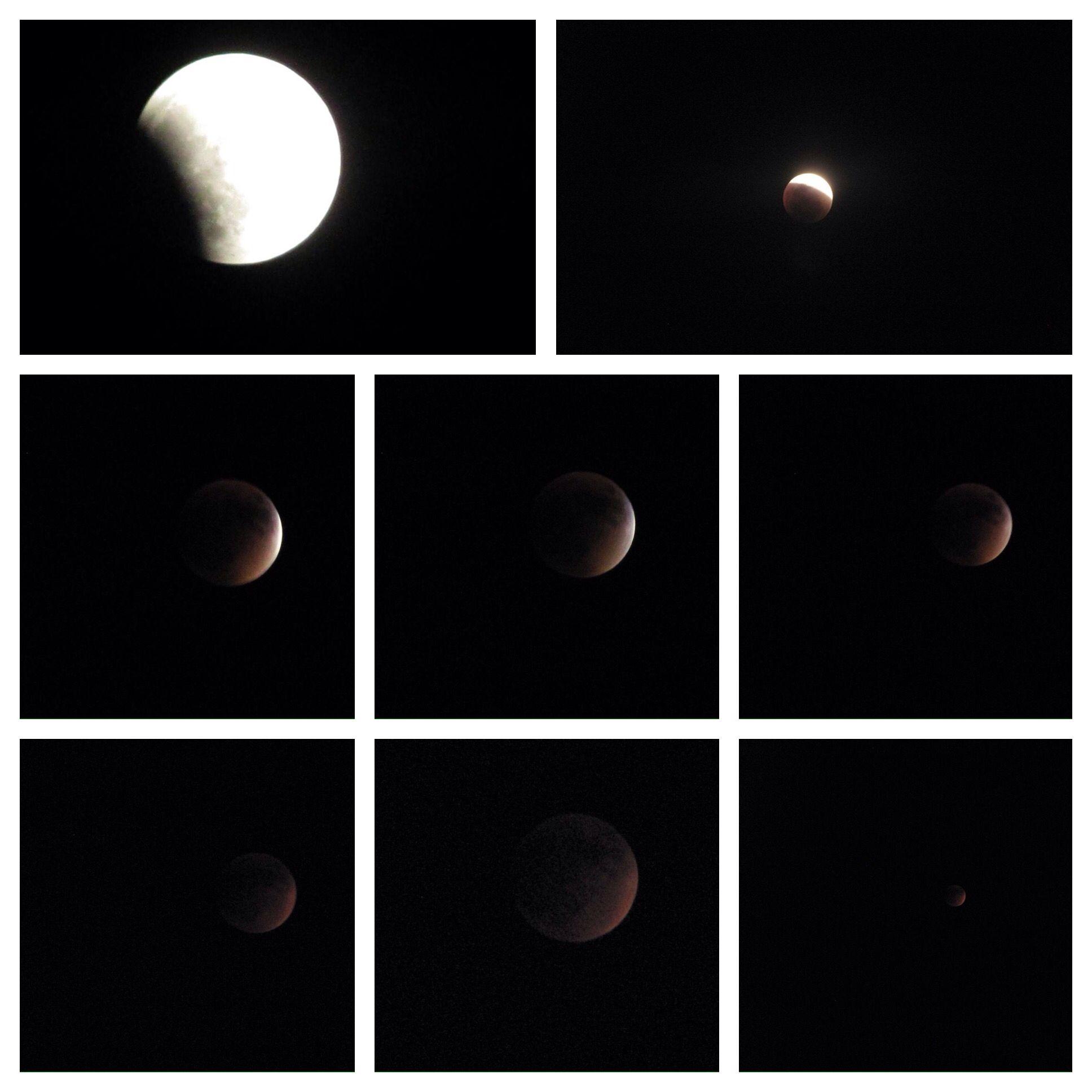 El eclipse lunar del 27 de septiembre en #puertorico