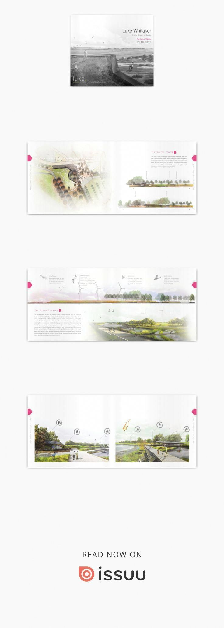 Portfolio Of Works Completed During Study On The Landscape