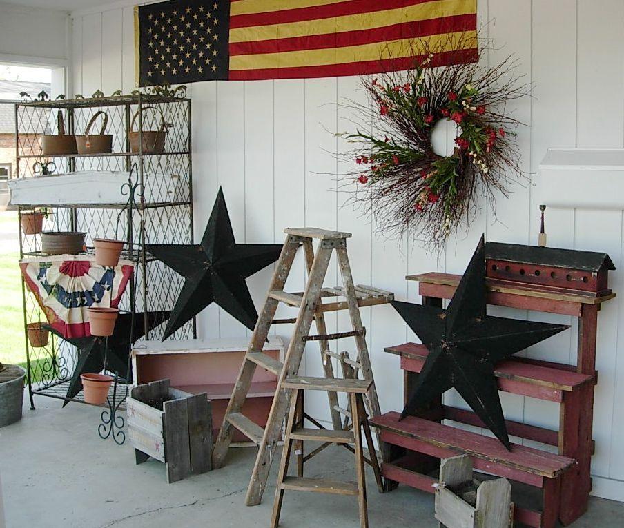Americana Porch Decor