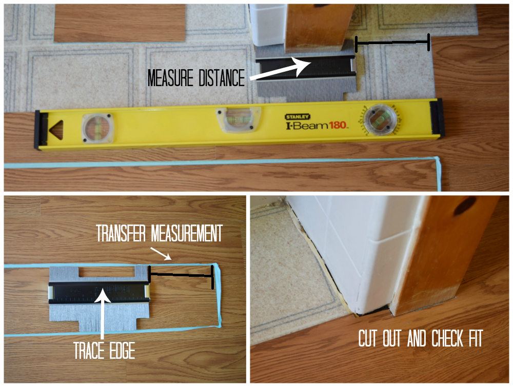 Bathroom Floors Diy Vinyl Flooring, How To Cut Vinyl Laminate Flooring