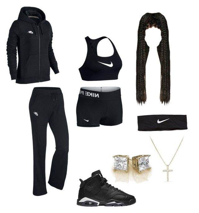 """Nike ✔️"" by kokaiine ❤ liked on Polyvore featuring NIKE and David Yurman"
