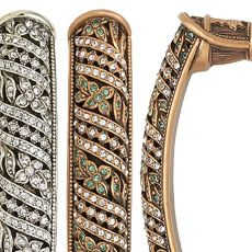 Edgar Berebi Decorative Hardware Collection Hampton Crystal In