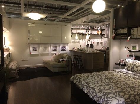 I Was At Ikea Last Weekend Looking At Furniture And Came Across This  Display In The Middle Of The Maze Like Store. Called U201cSmall Spacesu201d, This  Is IKEA ...