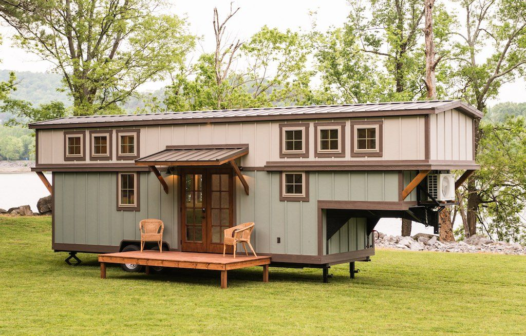 The Retreat Timbercraft Tiny Homes Tiny House Trailer