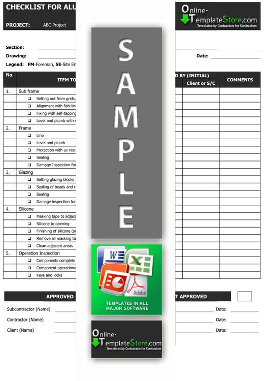 Pin by Online Template Store on Quality Control Templates Pinterest - submittal transmittal form