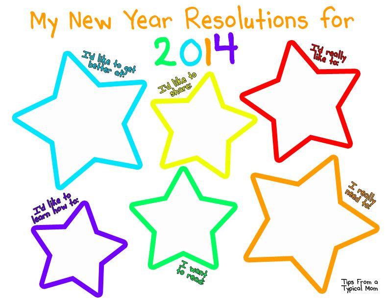 New Years Resolution Worksheet For Kids Copyg Google Drive