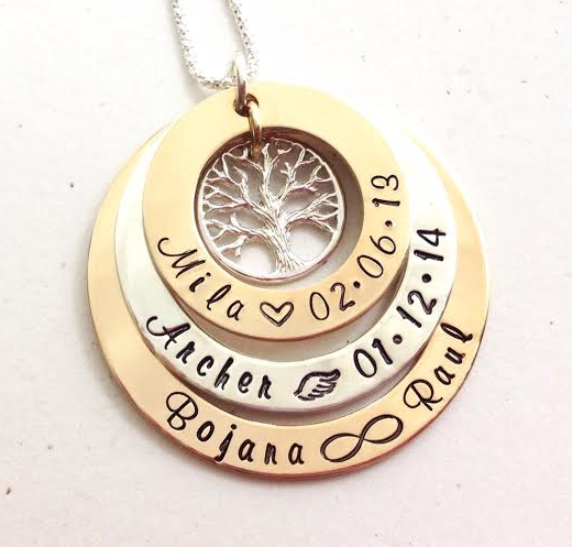 3 layer 2 tone reverse metals family tree order yours today at www