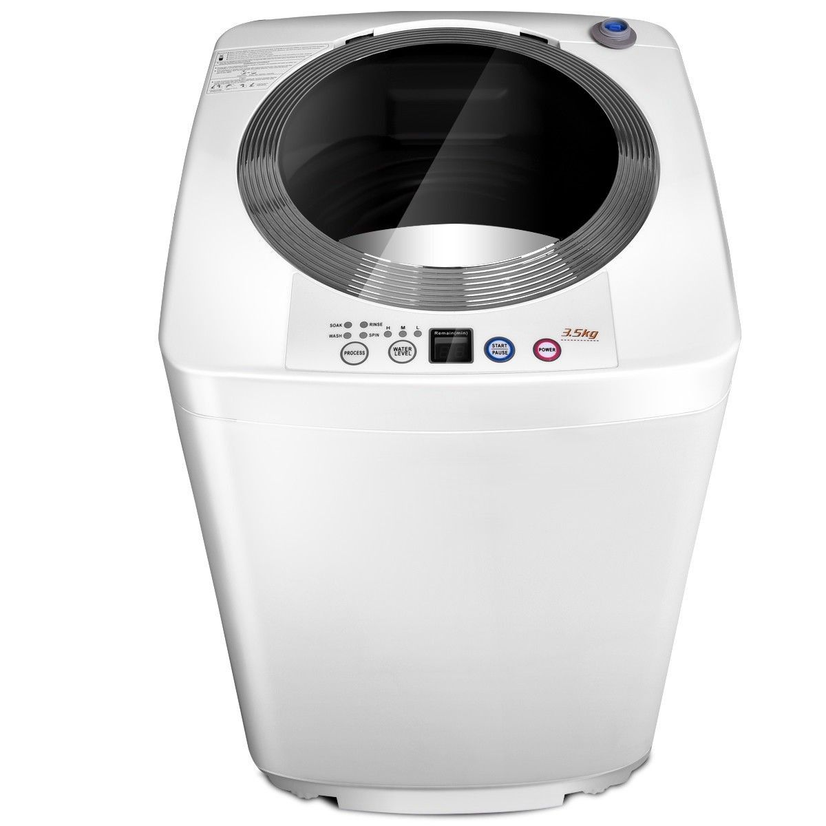 7 7 Lbs Automatic Laundry Washing Machine Material Stainless Steel Inner Tub Pp Plastic Metal Motor Laundry Washing Machine Washing Laundry Washing Machine
