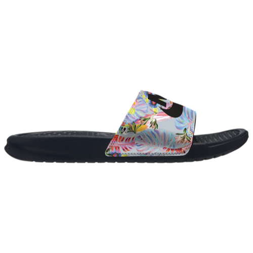 72282656da3d Nike Benassi JDI Slide - Women s at Eastbay sz 7 Pure platinum black ultra  femme