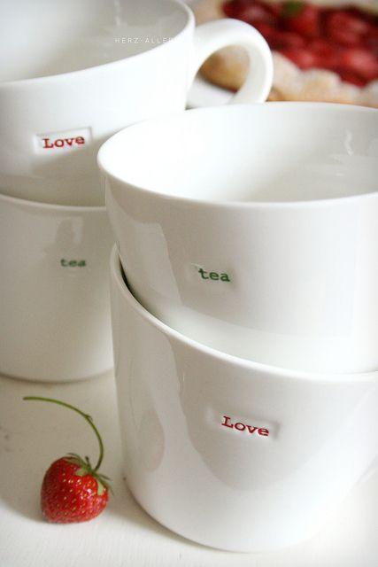 Great Mugs Great dishes! Pinterest Honig und Herzchen