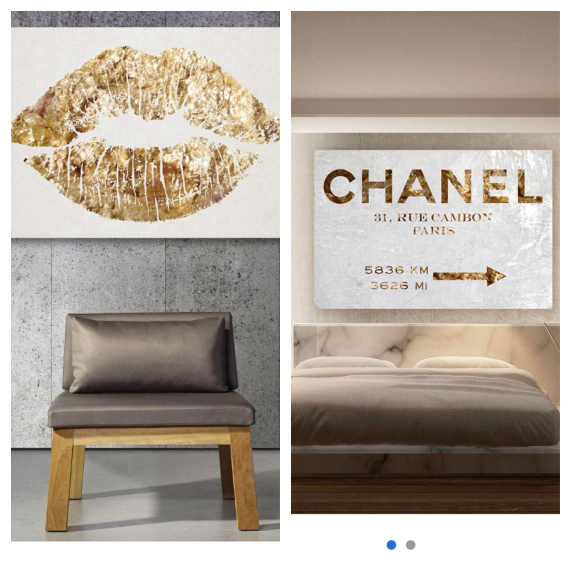 Best Chanel Wall Art From Hautelook Com Home Decor 400 x 300