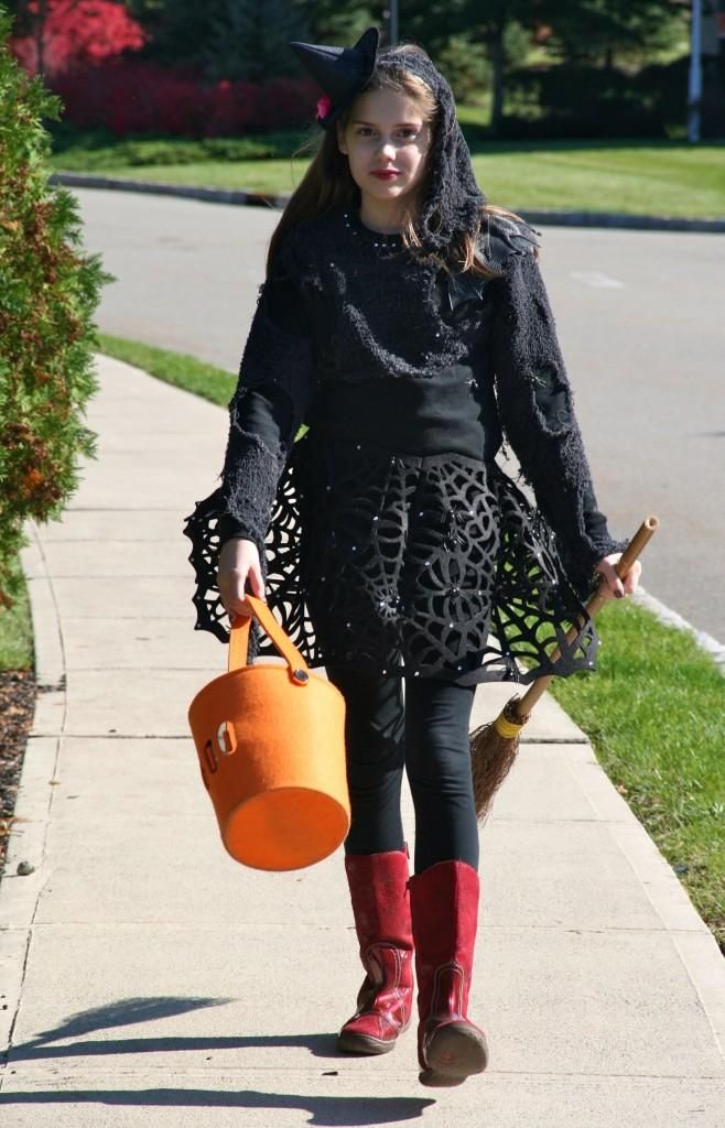 DIY Halloween  DIY Trendy Witch Costume  sc 1 st  Pinterest : diy witch costume  - Germanpascual.Com
