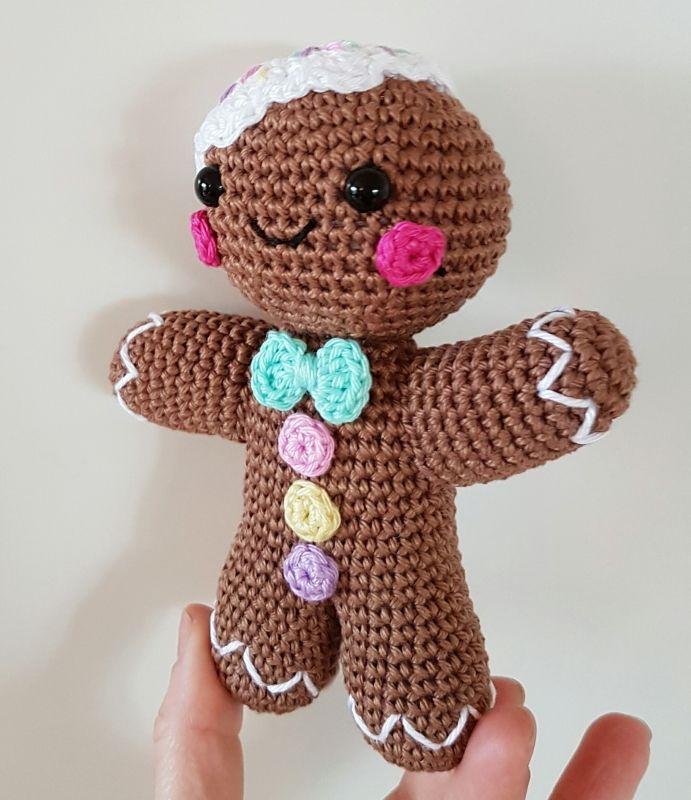 Gingerbread Man amigurumi pattern by Super Cute Design ...