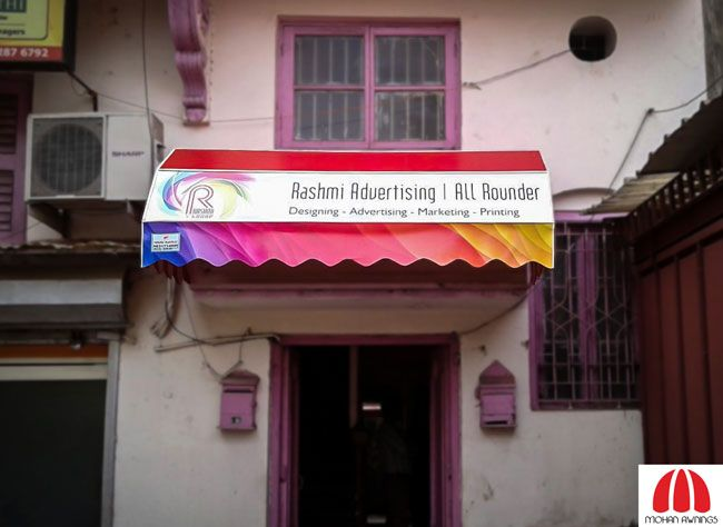 Make Your Brand Stand Out With Our Custom Made Branded Awnings To See Our Various Work Please Visit Our Website Aw Brand Names And Logos Shop Awning Awning