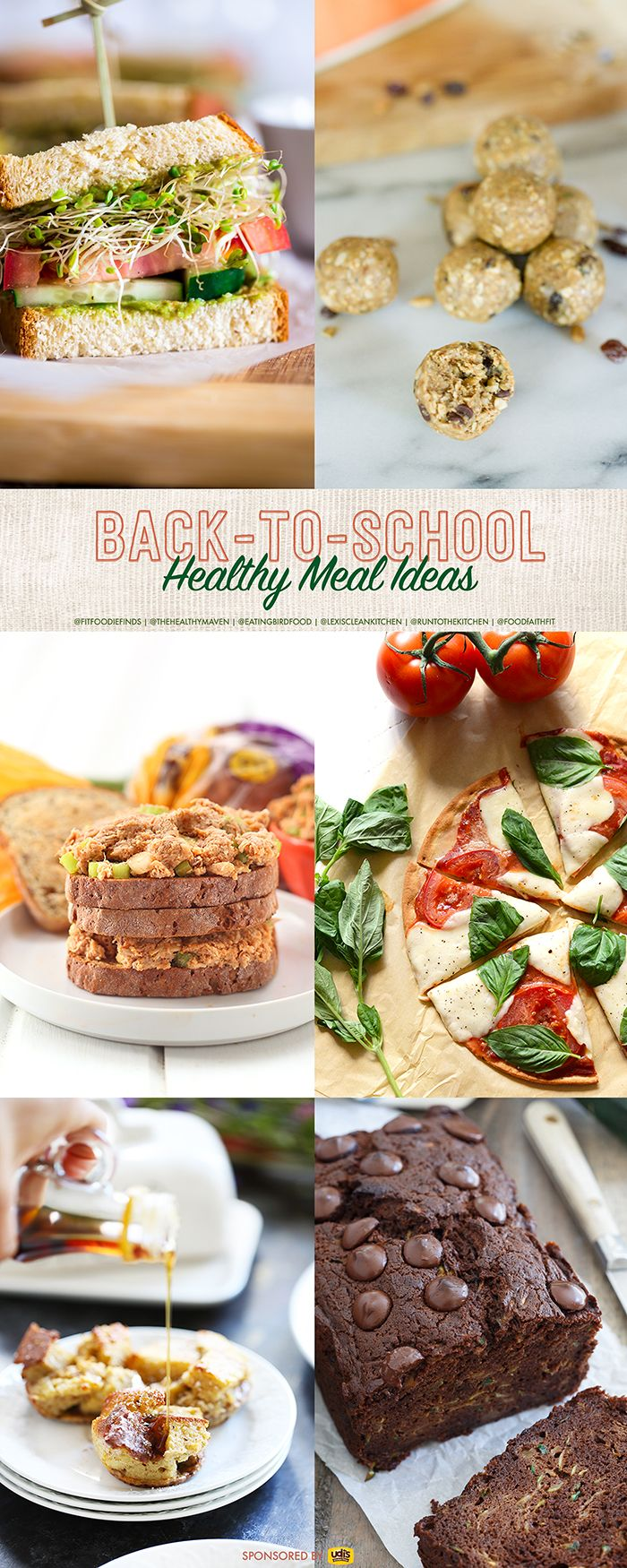 Healthy Back to School Meals #glutenfree