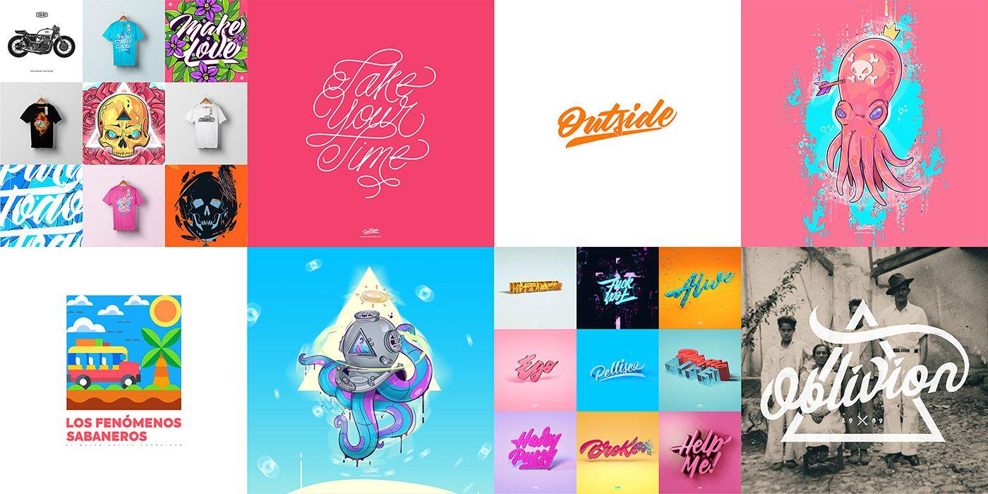 Random On Behance Adobe Creative Cloud Adobe Creative Diy Gift Box
