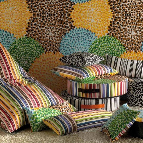 Missoni Home Cordula Easy Chair: Da Missoni I Cuscini D'alta Moda