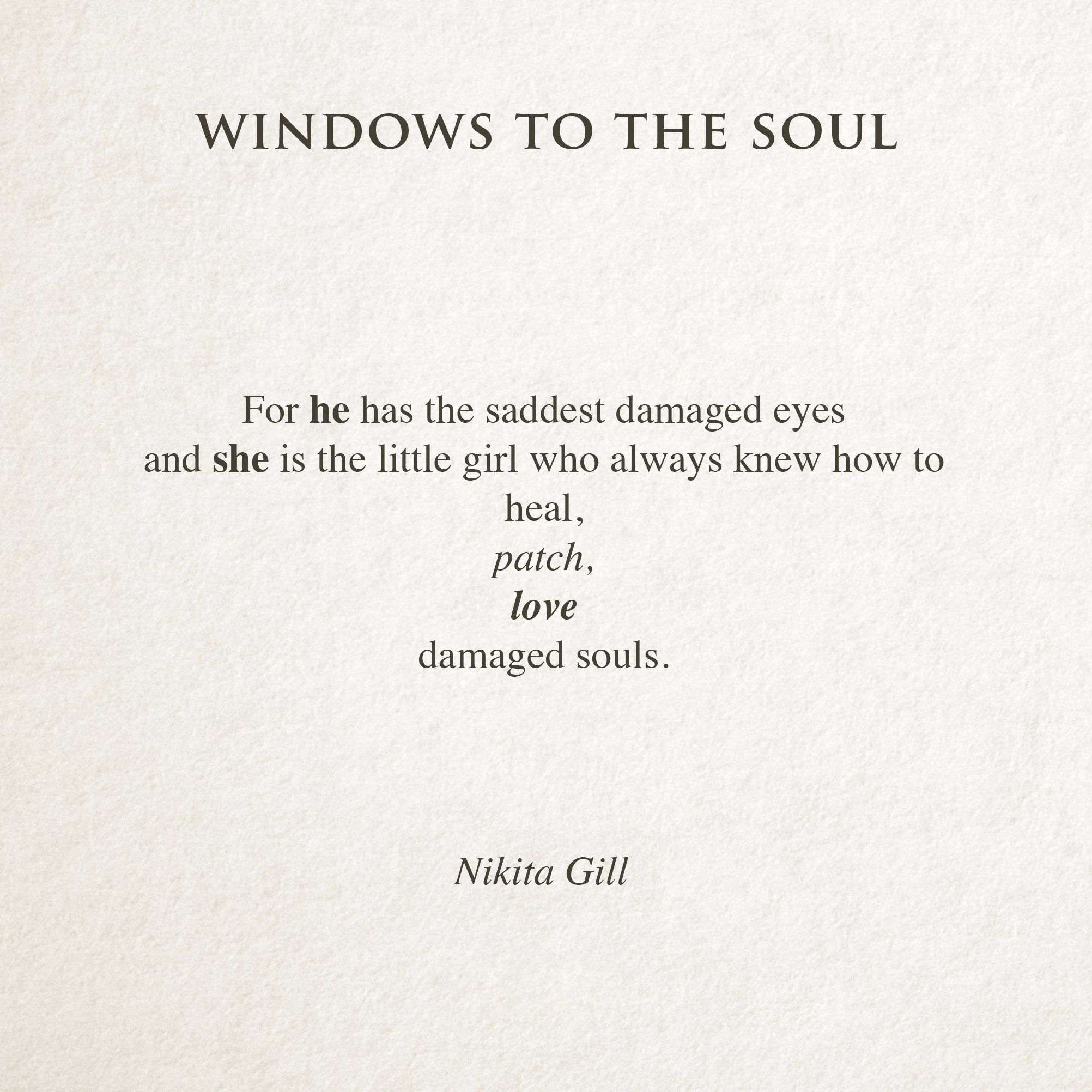 Nikita Gill Poetry Poem Words Love Girlversion Quotes And