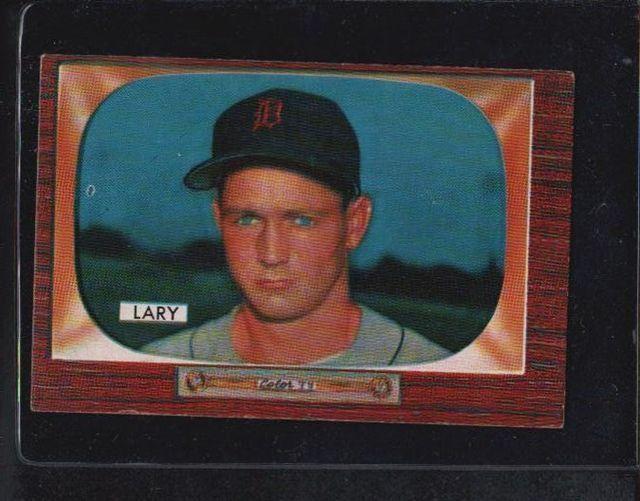 1955 Bowman Frank Lary