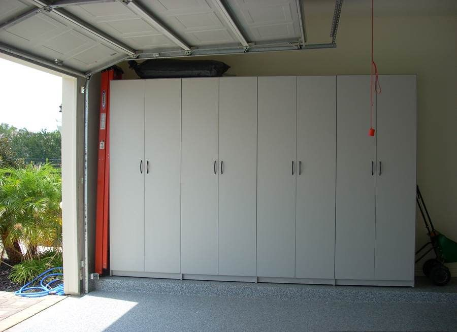 Diy Sliding Door Garage Cabinets Garage Pinterest
