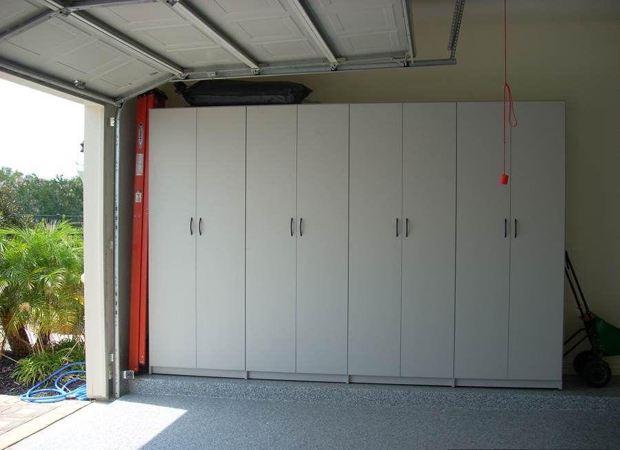 Diy Sliding Door Garage Cabinets Garage Cabinets Diy Garage