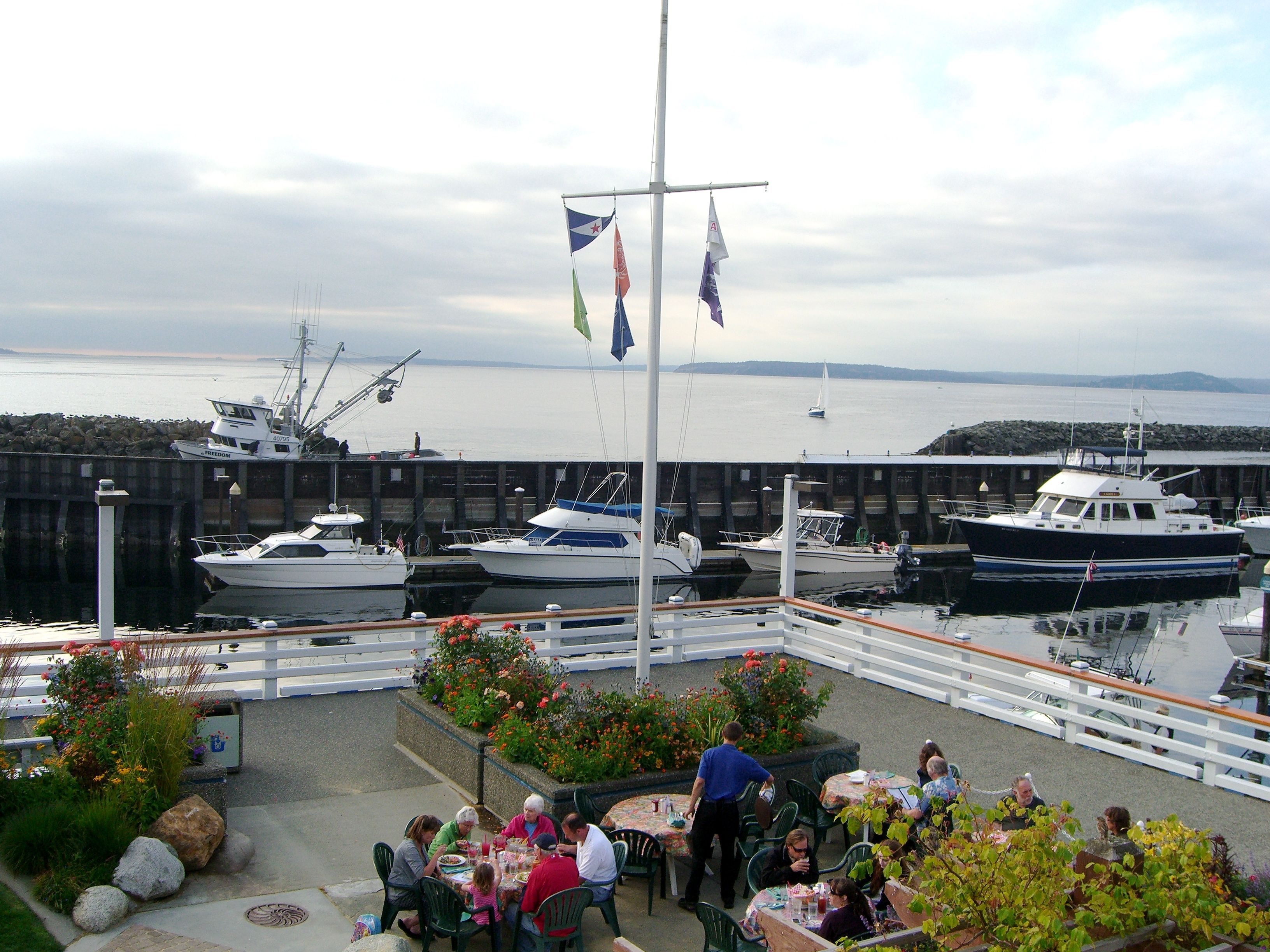 The view from Edmonds