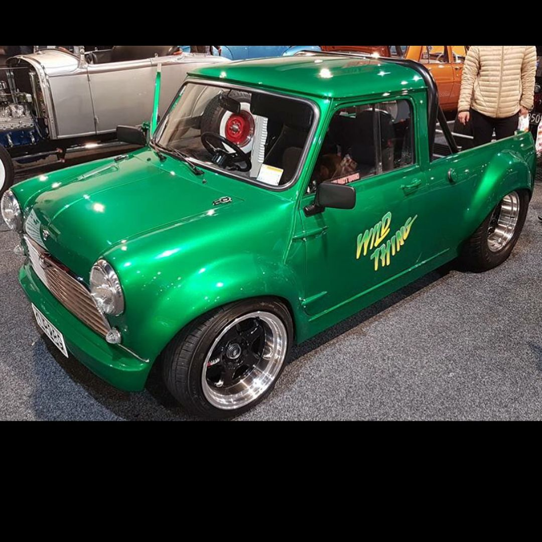 The V8 Mini The Green Rover 44l Was Epic To See It Again At